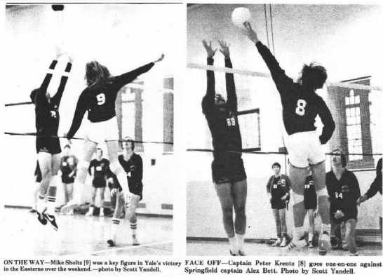 volleyball historical past articles